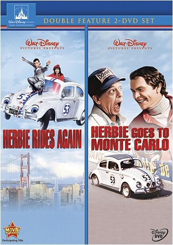 Herbie Rides Again & Herbies Goes to Monte Carlo