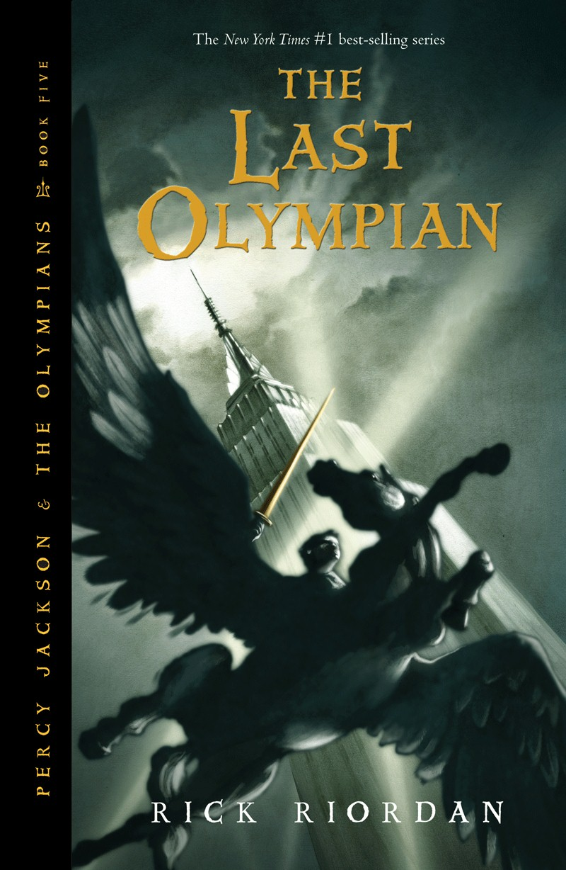 The Last Olympian by Riordan